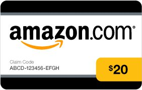 Amazon Gift Card USD 20